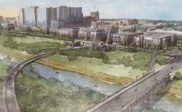 rendering of Cannon and Wexner Medical Center